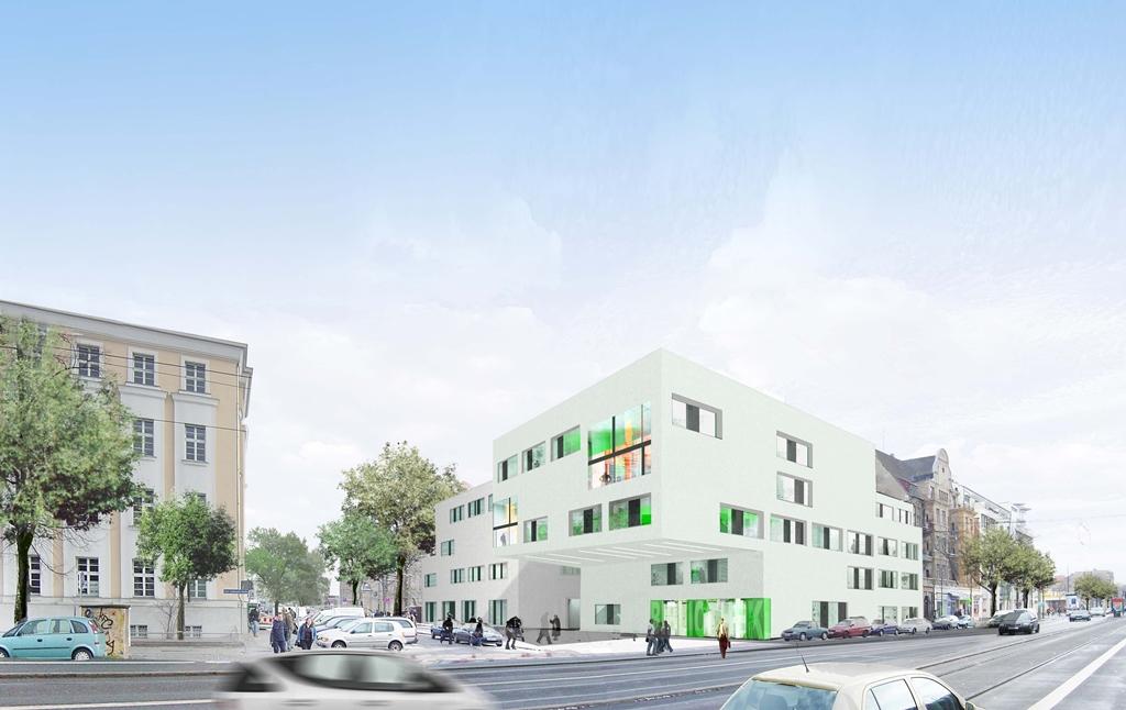 Fakultät Medien neuer Gebäudekomplex