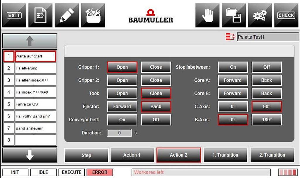 Baumueller Screenshot