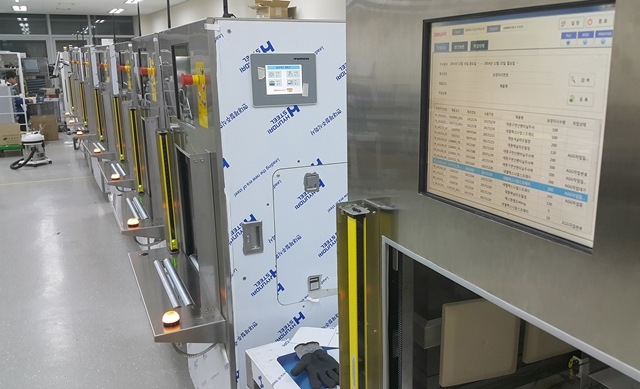 Zehn RFID-Reader sind in jeder Box Matching Machine verbaut.