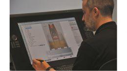 Mit der 3DEXPERIENCE-Plattform können Konstrukteure ein 3D-Konzept entwerfen und als individuelles Verpackungsmodell in nur 30 Minuten testen. (Bild: WestRock)