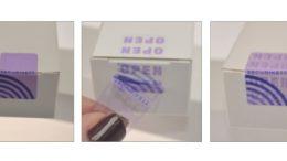 Funktionalität der VOID-Etiketten (vorher, nachher). Bild: ©SECURIKETT®