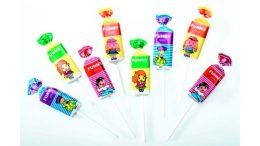 Lollipops in Top-Twist-Verpackung sind besonders in Asien und Südamerika beliebt.