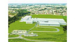 Das Packstoffwerk im brasilianischen Campo Largo nahe Curitiba. Bild: SIG Combibloc
