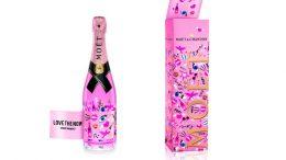 Moët Rosé Emoëticons Limited Edition