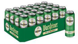 Warsteiner Premium Pilsener in 0,33-Liter Dosen als 24er Tray