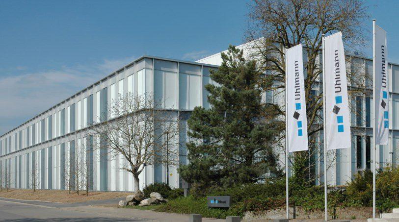 Hauptsitz der Uhlmann Pac-Systeme GmbH & Co. KG in Laupheim, Deutschland