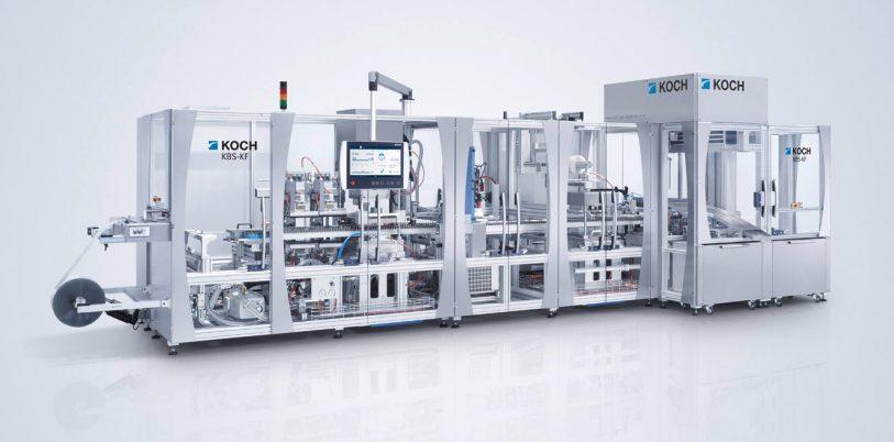Erstmals wird KOCH auf der interpack die virtuelle Inbetriebnahme am Beispiel einer Blistermaschine im medplus-Bereich vorstellen.