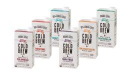 trendy: die Produktlinie STEEP 18 Cold Brew Coffee aus kalt gebrühten Kaffeegetränken. (Bild: SIG Combibloc)