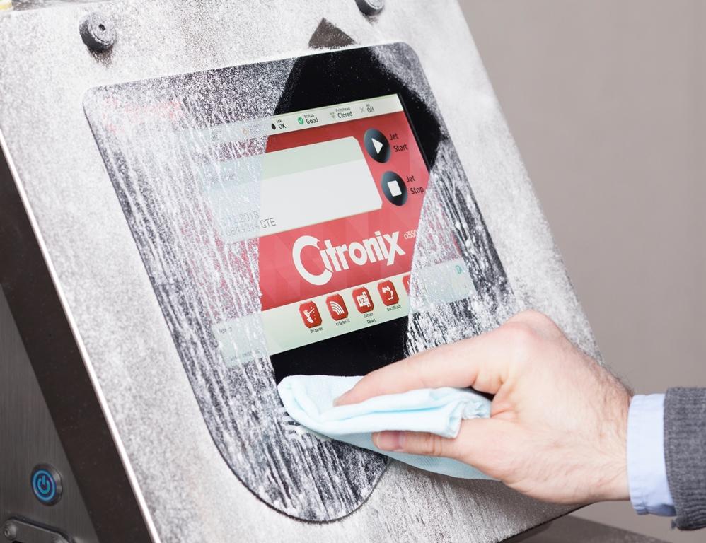 Hochauflösender, schlagfester und präziser Touchscreen.