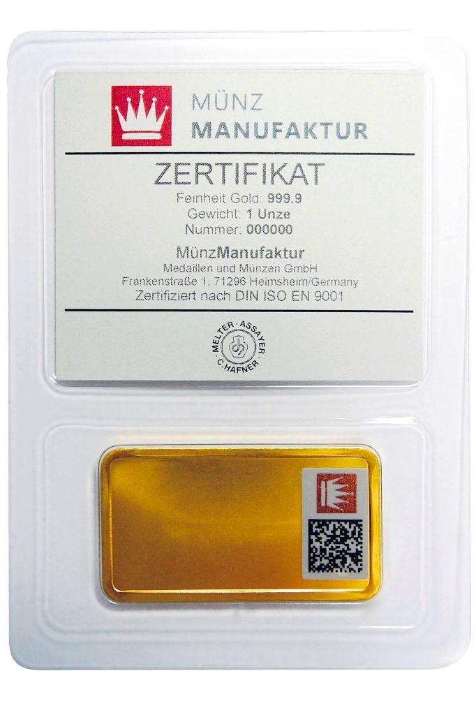 Im September 2015 startete die MünzManufaktur die flächendeckende Einführung der Sicherheitskennzeichnung.
