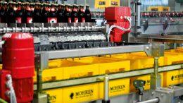 Im dezentralen Packer arbeiten noch weitere Elektromotoren und Getriebe von SEW-EURODRIVE. Bild: SEW-Eurodrive