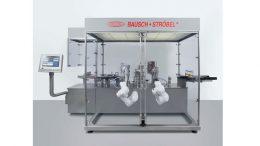 Die kompakte Abfüll- und Verschließmaschine KPC von Bausch+Ströbel.