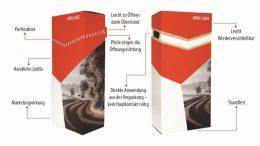 """Die 2017 mit dem SilverPack Award für """"höfliche Verpackungen"""" ausgezeichnete Verpackung ist eine Open-Close-Verpackung von STI."""