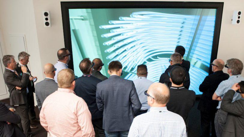 Virtual Reality ermöglicht neue Einblicke in Prozesse und Technologien. Das VR Center des Packaging Valley wurde 2016 in Schwäbisch Hall eröffnet.