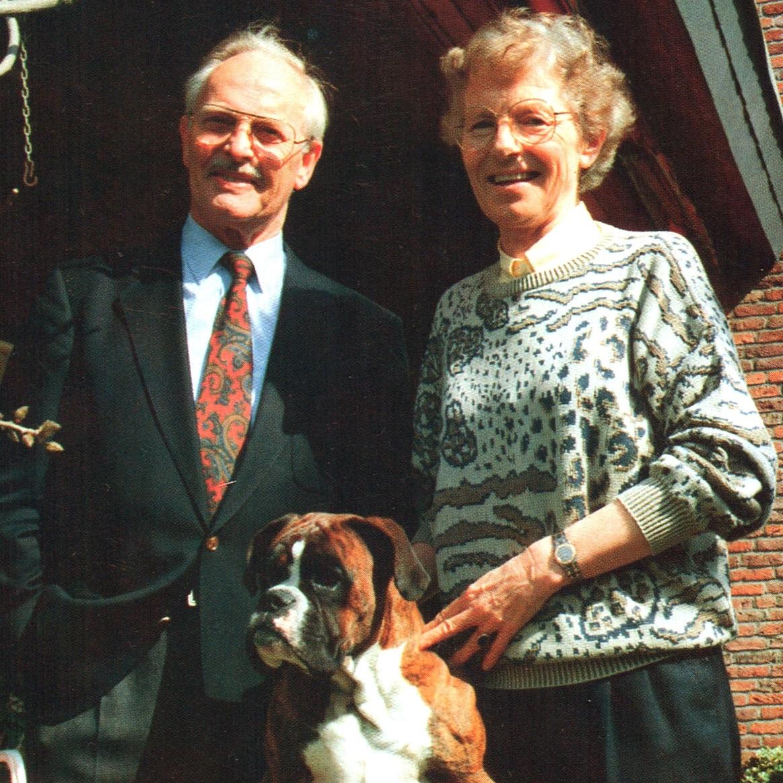 Gemeinsam haben Maria und Karl Kisters über Jahrzehnte die Geschicke der Firma gelenkt. (Bild KHS)