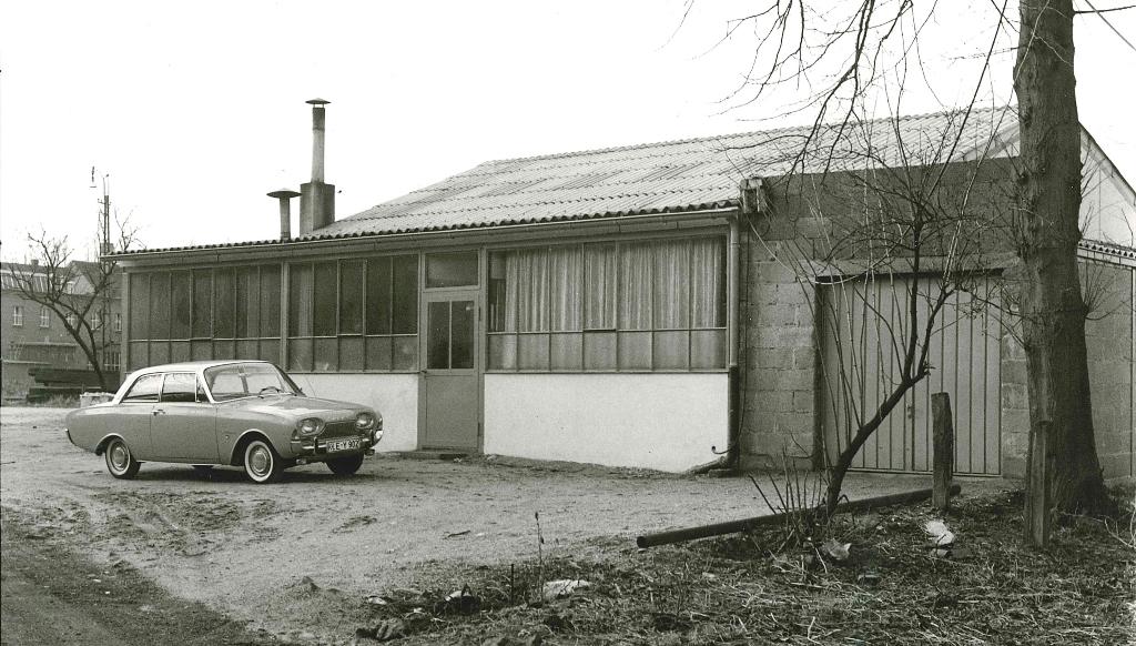 In der Wiesenstraße in Kleve entstanden die ersten Maschinen. (Bild: KHS)