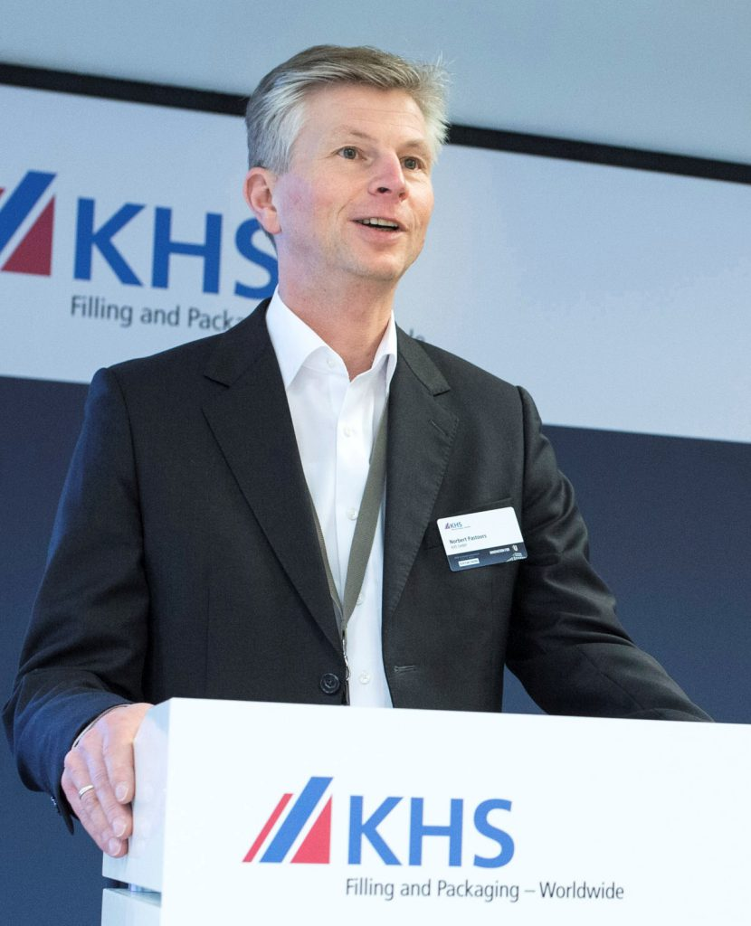 Norbert Pastoors, Head of Packaging Products Division, ist seit 2007 bei KHS. (Bild: KHS)