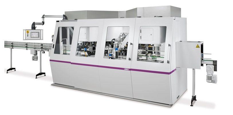 Der neue Can Former CF 589 von LANICO verarbeitet bis zu 500 Dosen pro Minute bei minimalem Materialeinsatz. (Bild:Lanico)
