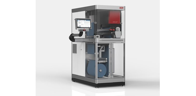 Das neue Industrie-4.0-fähige-UV-Digitaldrucksystem Web 4.0 von Hapa.