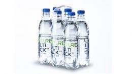 Das Nature MultiPack™ mit recyclingfähigen Klebepunkten.