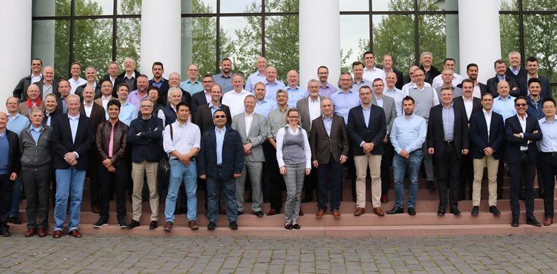 Beim internationalen Sales Meeting von BST eltromat im Mai 2017 in Wiesbaden trafen sich mehr als 70 Mitarbeitern aus aller Welt.