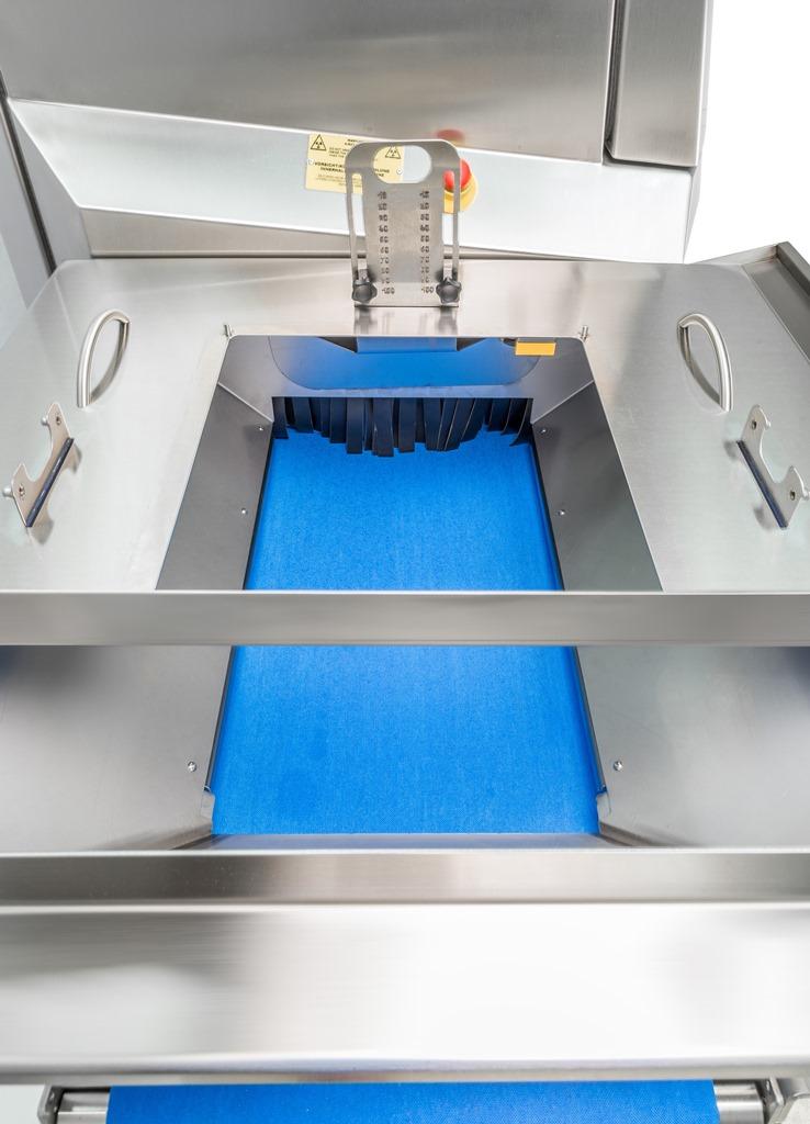 Für die zuverlässige Röntgeninspektion von Schüttgut. (Bild: Minebea Reserve Dymond Bulk Detail)