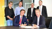 Unterzeichnung des Vertrags zur Ausbildungskooperationnsvertrages