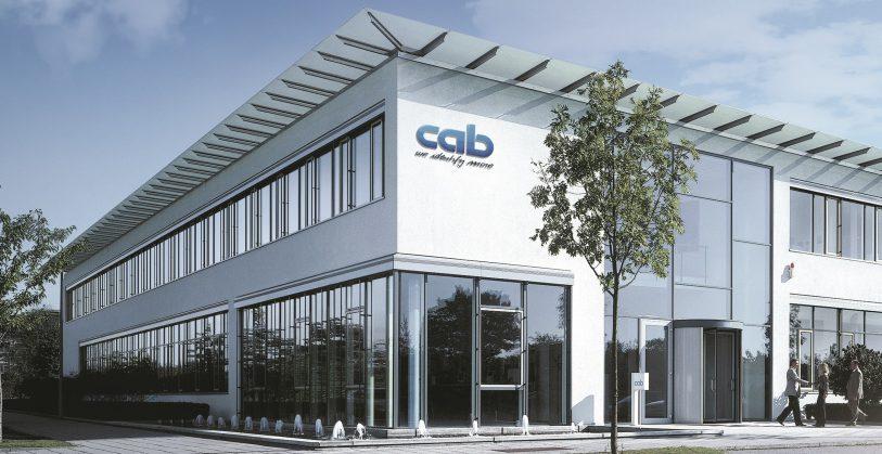 Die cab-Zentrale in Karlsruhe: Hier sitzen Produktentwicklung und -konstruktion, Vertrieb international, Marketing und Verwaltung.