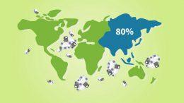 Nach Informationen der IK stammen 80 Prozent des Plastikmülls in den Weltmeeren aus Asien. (Bild: Industrievereinigung Kunststoffverpackungen (IK))