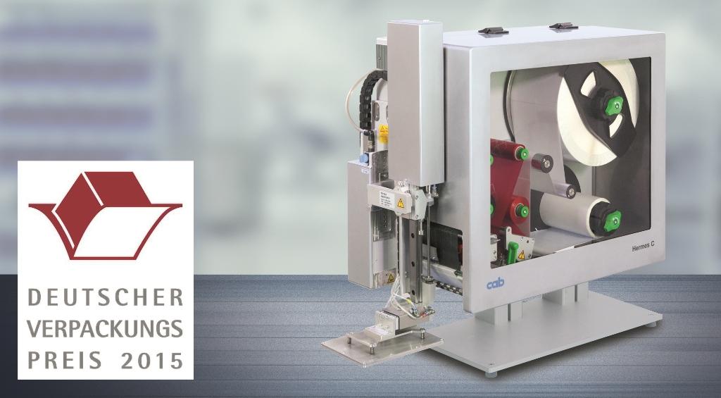 Das Druck- und Etikettiersystem Hermes C wurde für die Kennzeichnung von Gefahrstoffen entwickelt.