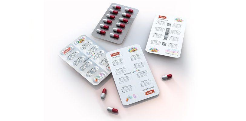 Der BlisterJet CMYK eröffnet neue Möglichkeiten für den vollfarbigen Druck auf Blister. (Bild: Hapa)