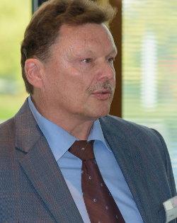 Rainer Bachert, Projektleiter der Messe Motek in Stuttgart