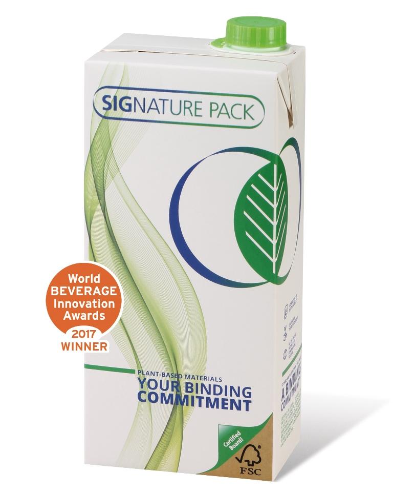 Das SIGNATURE PACK steht zu 100 Prozent in Verbindung zu pflanzenbasierten, nachwachsenden Rohstoffen.