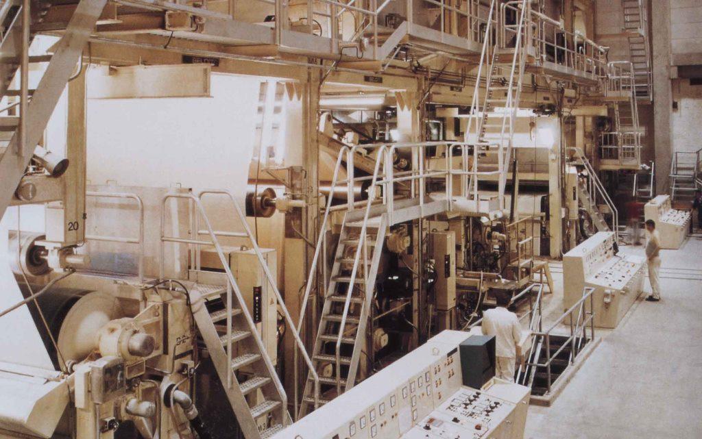 TU Feldmuehle 1980 Streichmaschine
