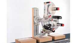 Beim Etikettenspender Alpha HSM funktionieren die Hauptkomponenten unabhängig voneinander.