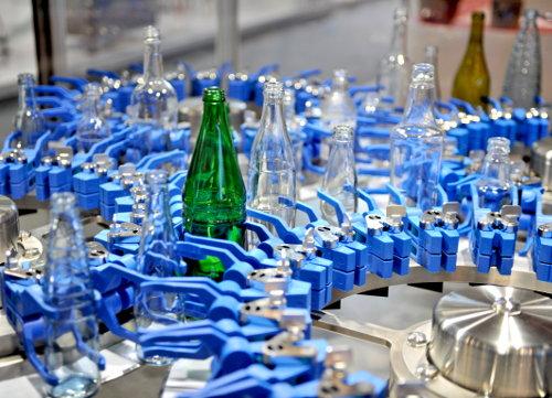 """Zu sehen waren auf der """"drinktec"""" auch Abfüllanlagen wie hier von der Tyrolon-Schulnig GmbH."""