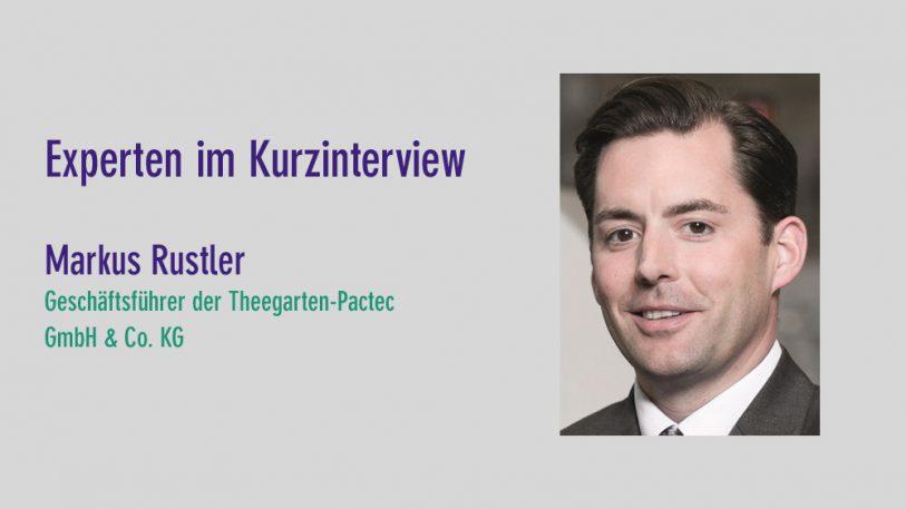 Markus Rustler, Theegarten-Pactec