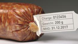 schwierige Bedingungen beim Etikettieren von Lebensmitteln