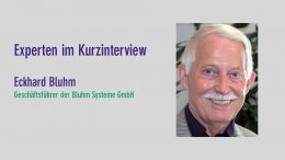 Eckhard Bluhm, Bluhm Systeme GmbH