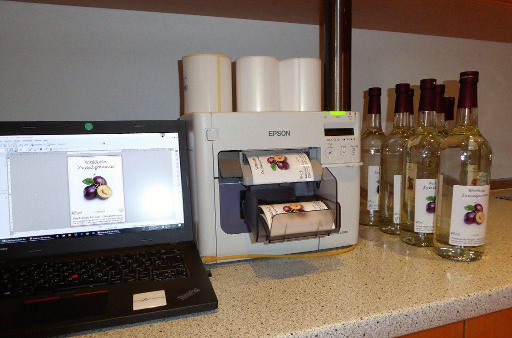 Vierfarbetikettendrucker Epson ColorWorks C3500