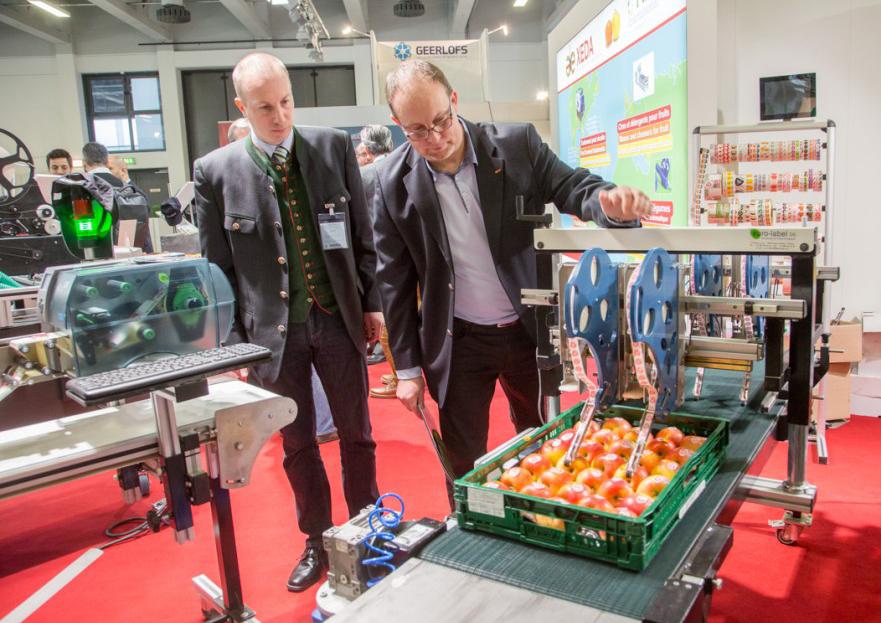 Messegeschehen auf der Fruit Logistica