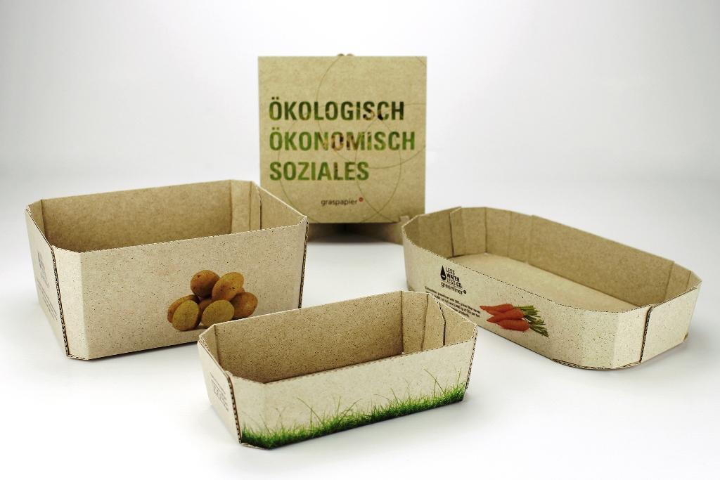 Grasverpackung