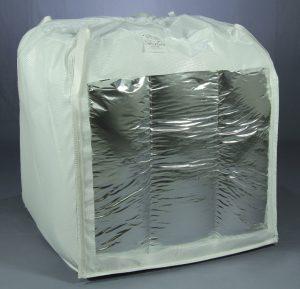 Formstabile Multilayerfolienverpackung für Füllgewichte von mehr als einer Tonne