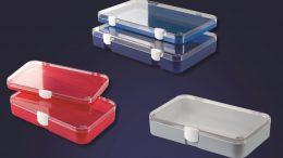 Standardeinsätze in drei Größen für die Sortimentskästen von LICEFA