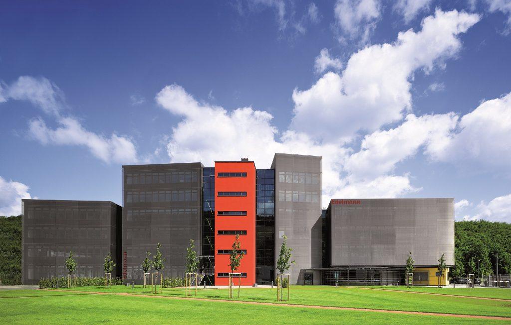 Edelmann Service Centrum, die Unternehmenszentrale in Heidenheim.