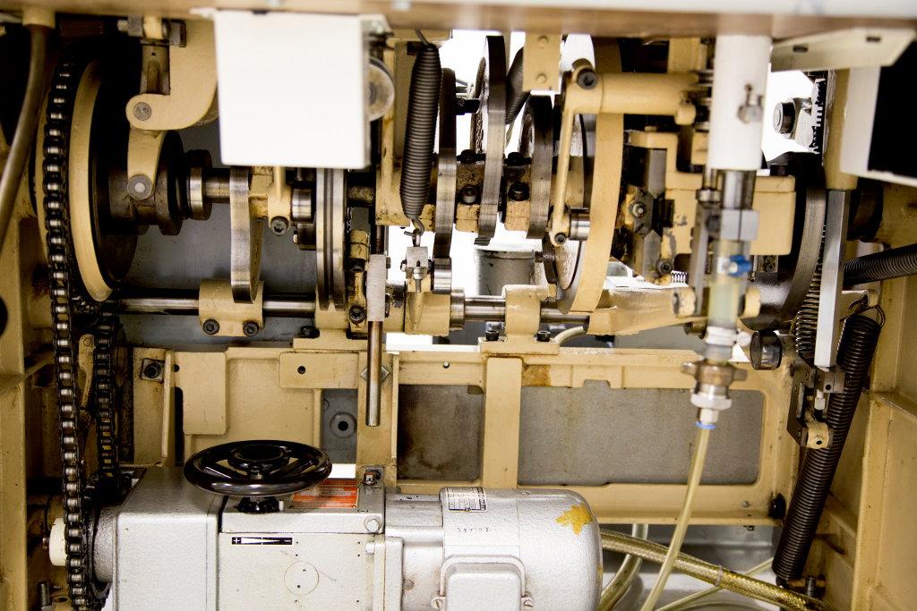 Seit 1986 ohne große Ausfälle im Einsatz: der Tubenfüller von Norden