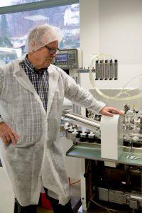 Norden-Mitarbeiter Bernhard Leusing