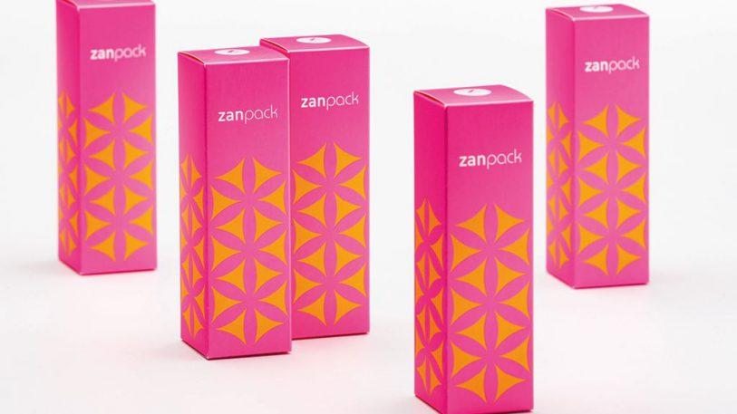 Papier- und Kartonqulaität Zanpack silk