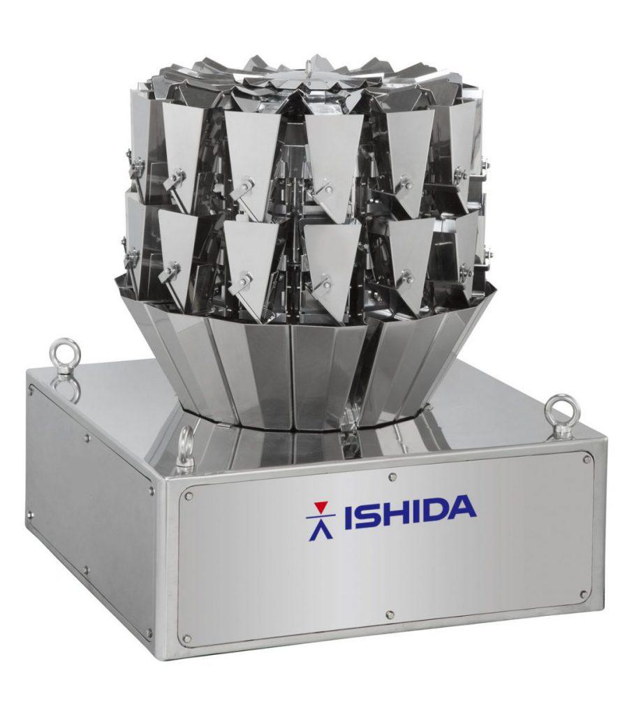Die Ishida Mehrkopfwaage CCW-RV für Anwendungen mit extrem kleinen Zielgewichten.