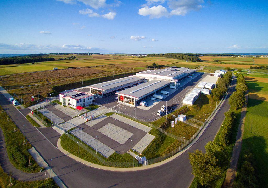 Das neue leistungsstarke Depot von DPD in Nagold wurde 2017 in Betrieb genommen.